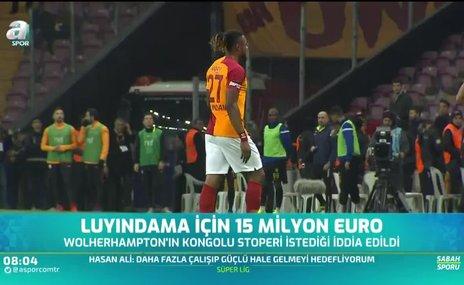 Galatasaraylı Luyindama için 15 milyon Euro