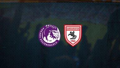Keçiörengücü - Samsunspor maçı ne zaman, saat kaçta ve hangi kanalda canlı yayınlanacak? | TFF 1. Lig