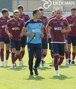 Trabzon'da Alanyaspor hazırlıkları sürdü