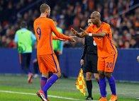 Süper Lig'in yıldızları milli arada parladı
