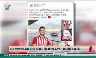 Olympiakos Valbuena'yı açıkladı