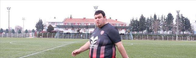 130 kiloluk futbolcunun idolü Muriç!