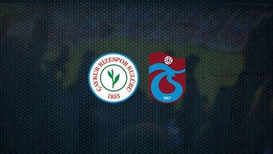 Fırtına'da hedef 3 puan! Rizespor - Trabzonspor maçı ne zaman, saat kaçta ve hangi kanalda canlı yayınlanacak?   Süper Lig