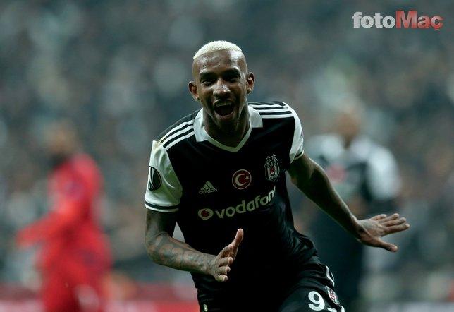 Anderson Talisca Beşiktaş'a dönecek mi? Resmen açıkladı