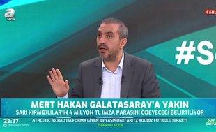 """Canlı yayında flaş sözler! """"Galatasaray Devler Ligi'ne gidemezse..."""""""