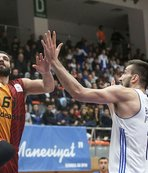 Galatasaray Odeabank deplasmanda mağlup