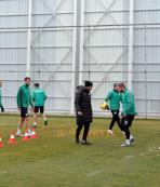 Konyaspor Başakşehir maçı hazırlıklarını sürdürdü