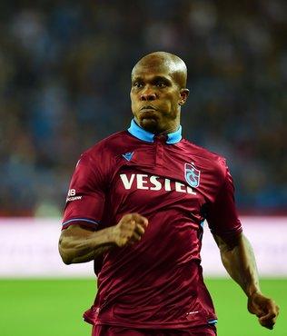 Trabzonspor'un yıldızı Nwakaeme Avrupa'da zirveye oynuyor