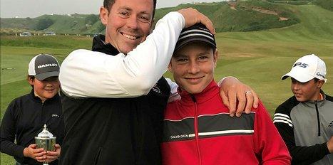 Milli Golfcü Ali Berke - Xu çifti, Amerikalı rakiplerini yendi