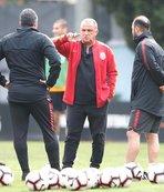 Galatasaray'da Kasımpaşa mesaisi