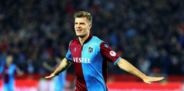 Son dakika: Alexander Sörloth Trabzon'a döndü! Karantina...