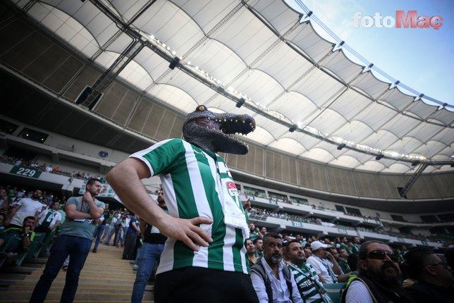 Bursaspor - Göztepe maçından kareler...
