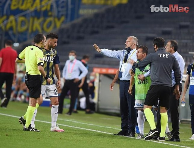 Maç sonu koridor karıştı! Emre Belözoğlu ve Cüneyt Çakır...