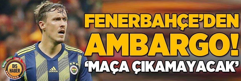 max krusenin basi dertte fenerbahce izin vermezse 1598262228842 - Son dakika: Fenerbahçe'de Jose Sosa'nın eşi corona virüsü oldu