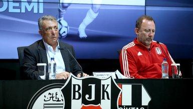 Son dakika BJK haberleri   İşte Beşiktaş'ta Sergen Yalçın ile Ahmet Nur Çebi arasındaki ipleri koparan o konuşma!