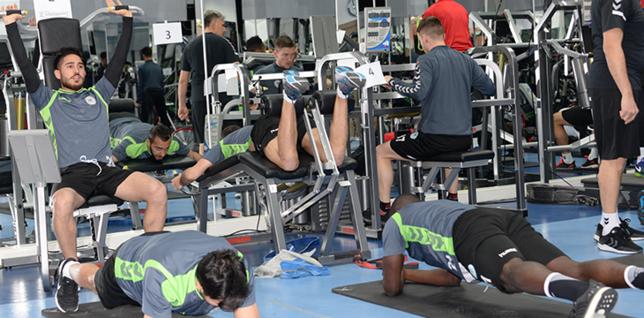 Konyasporda Yeni Malatyaspor maçı hazırlıkları