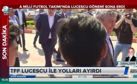 Milli Takım'da Lucescu dönemi sona erdi
