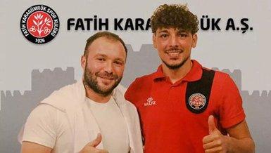 Son dakika transfer haberi: Fatih Karagümrük Salih Dursun'u kadrosuna kattı