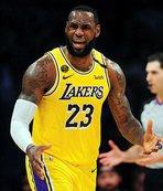 Liderlerin mücadelesinde kazanan LA Lakers!