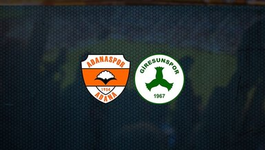 Adanaspor - Giresunspor maçı ne zaman, saat kaçta ve hangi kanalda canlı yayınlanacak? | TFF 1. Lig