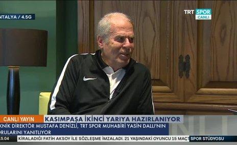 Mustafa Denizli'den Diagne ve Trezeguet açıklaması