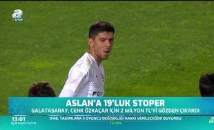 Galatasaray'a 19'luk stoper: Cenk Özkaçar