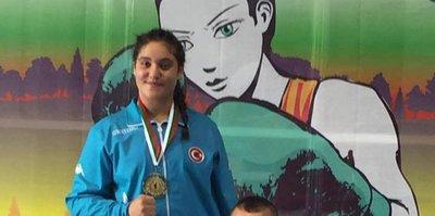 14 yaşında Avrupa şampiyonu oldu