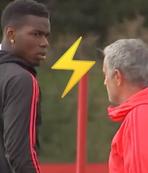 Mourinho Pogba arasında soğuk rüzgarlar!