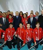 Hokey Milli Takımı Avrupa Şampiyonası hazırlıklarını Trabzon'da sürdürüyor