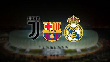 Son dakika spor haberi: Barcelona Juventus ve Real Madrid'den UEFA'ya karşı ortak açıklama!