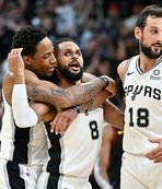 Spurs'ten Ginobili'ye galibiyetli veda