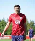 Burak Yılmaz Lille formasıyla ilk maçına çıktı!