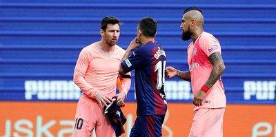 Barcelona sezonu beraberlikle kapattı