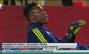 Kameni'ye onay, Volkan'a veto!