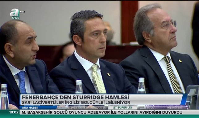 Fenerbahçe'den Sturridge hamlesi | Video haber