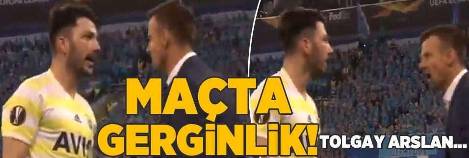 Zenit maçında gerginlik! Tolgay Arslan...