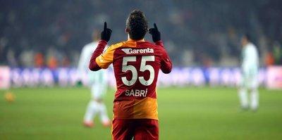 Sabri 5 yıl sonra gol attı