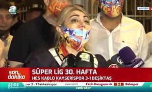 Berna Gözbaşı: Süper Lig'de kalacağız