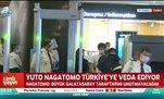 Yuto Nagatomo Türkiye'ye böyle veda etti
