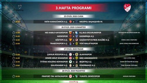super ligde ilk 4 haftanin programi belli oldu iste saat ve tarihler 1598895444453 - Süper Lig'de ilk 4 haftanın programı belli oldu! İşte saat ve tarihler