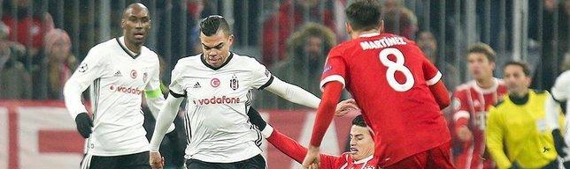 Bayern dominates Besiktas in 5-0 rout