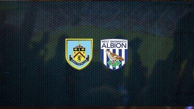 Burnley - West Bromwich maçı ne zaman, saat kaçta ve hangi kanalda canlı yayınlanacak?   İngiltere Premier Lig