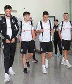 Beşiktaş kafilesi Sivas'a geldi