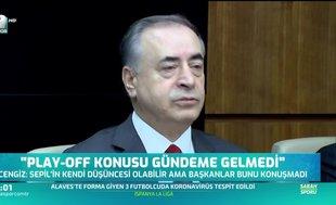 Mustafa Cengiz'den play-off açıklaması