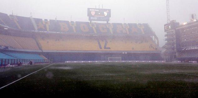 Libertadores Kupası finaline yağış engeli
