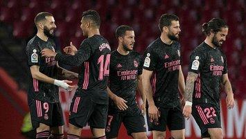 Real Madrid zirve takibini sürdürdü!