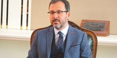 Bakan Kasapoğlu'ndan Fenerbahçe için tebrik mesajı