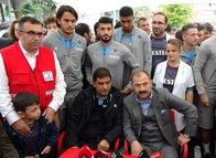 Trabzonspor'dan 'Kurtarmak Bizim Kanımızda Var' kampanyasına destek
