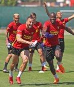Göztepe'de Karabükspor maçı hazırlıkları