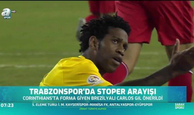 Trabzonspor'a Brezilyalı stoper